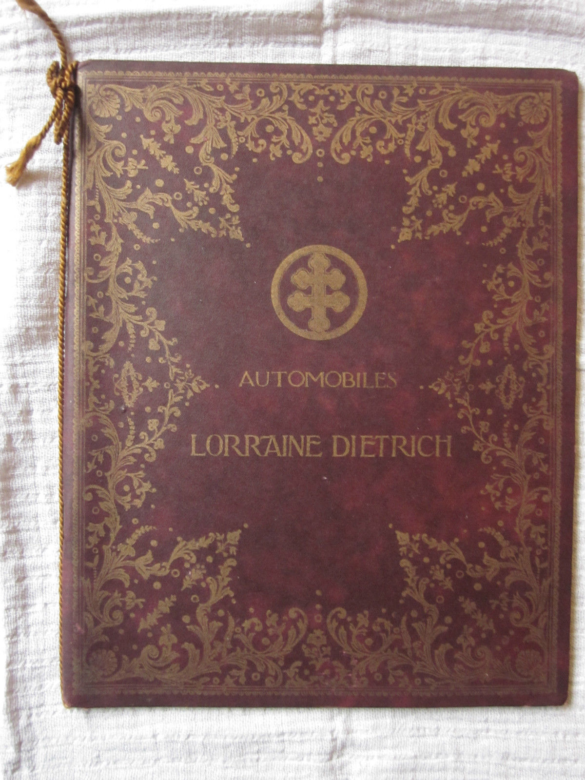 catalogue lorraine dietrich de 1909 patrimoineautomobile com. Black Bedroom Furniture Sets. Home Design Ideas