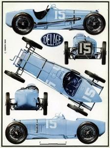 Delage-1500-cc-1926-224x300 Delage 1500 cc 1926 (3/3) Cyclecar / Grand-Sport / Bitza Divers Voitures françaises avant-guerre