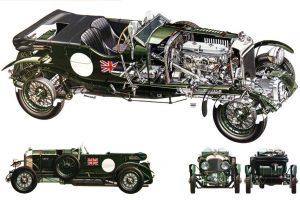 """bentley-45-litre-blower-1930-2-300x200 Bentley 4½ Litres """"Blower"""" 1930 Divers Voitures étrangères avant guerre"""