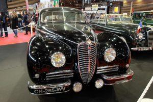Delahaye-180-berline-blindée-chapron-1948-2-300x200 Delahaye à Epoqu'auto 2016 (2/2) Divers Voitures françaises avant-guerre