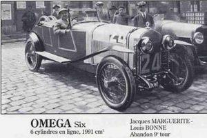 omega-six-le-mans-1924-300x200 Oméga-Six 1929 Divers Voitures françaises avant-guerre