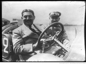 24-6-12-circuit-de-Dieppe-Boillot-sur-Peugeot-Prévot-mécanicien-grand-prix-de-lAutomobile-club-de-France-300x225 La Peugeot des Charlatans (GP 1912) Cyclecar / Grand-Sport / Bitza Divers