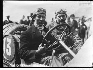 24-6-12-circuit-de-Dieppe-Goux-sur-Peugeot-Bégin-mécanicien-grand-prix-de-lAutomobile-club-de-France-300x225 La Peugeot des Charlatans (GP 1912) Cyclecar / Grand-Sport / Bitza Divers