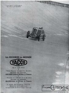 "petite-rosalie-pub-yacco-225x300 ""Petite Rosalie"" des records 1933 Cyclecar / Grand-Sport / Bitza Divers"