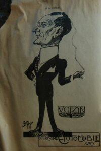 """caricature-Voisin-200x300 le """"who's who"""" automobile... :) Autre Divers"""
