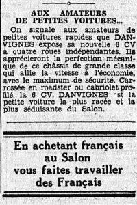 Remi-Danvignes-articlela-matin-21-oct-1938-200x300 Rémi Danvignes Divers Georges Irat