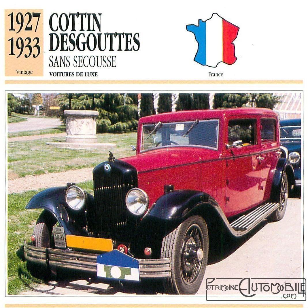 cottin desgouttes type ta 1929 du rallye saharien