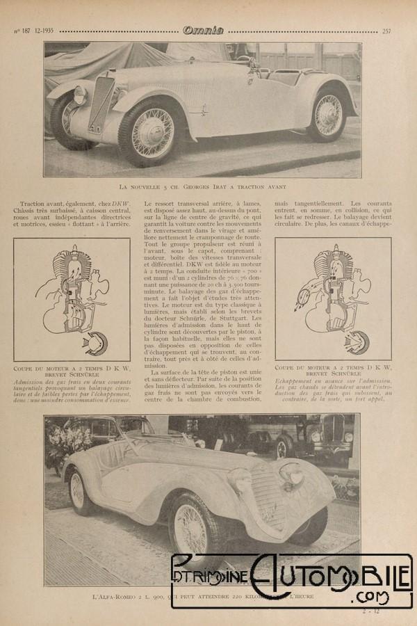 nouvelle georges irat dans omnia de 1935