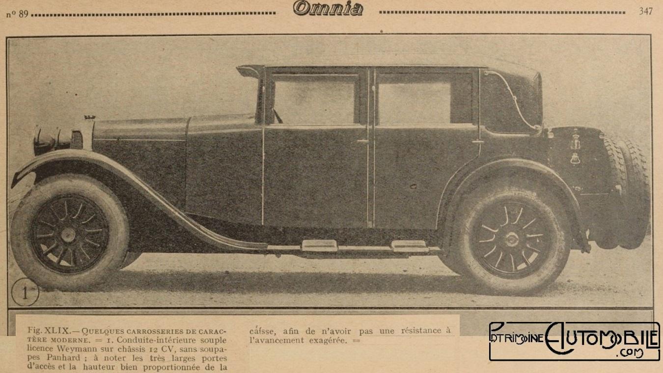 panhard levassor x45 de 1925