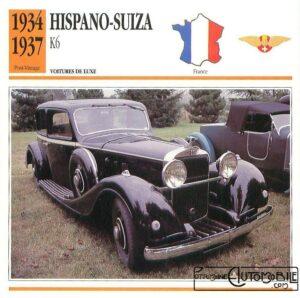 """hispano-k6-fiche-1-300x298 Hispano-Suiza K6 """"demi-berline"""" Van Vooren de 1934 Divers Voitures françaises avant-guerre"""