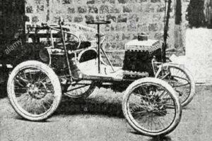 voiturette-renault-paris-toulouse-paris-1900-300x200 RENAULT Type C Course 1900 Divers Voitures françaises avant-guerre