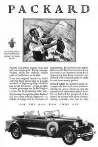 """1929-Packard.-Ask-The-Man-Who-Owns-One-200x300 Packard 645 """"Dual Cowl Phaeton"""" Dietrich de 1929 Divers Voitures étrangères avant guerre"""