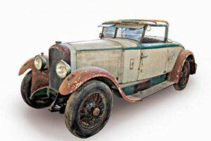 peugeot-176-ss-de-1926-4-300x200 Peugeot 176 Cabriolet Felber 1926 (1/2) Divers Voitures françaises avant-guerre