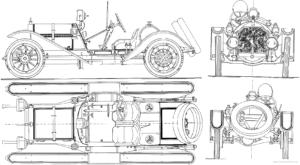 mercer-35j-raceabout-1912-300x165 MERCER 1912 Raceabout Cyclecar / Grand-Sport / Bitza Divers Voitures étrangères avant guerre